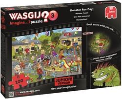 Wasgij Junior 3 - Monsterfeest Puzzel (100 stukjes)