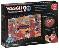 Wasgij Mystery Puzzel 12 - De Onverwachte Verdachten (1000 stukjes)