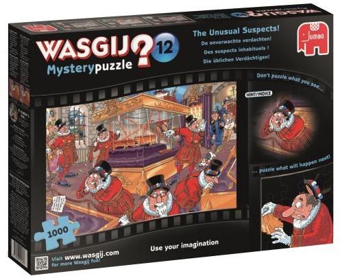Wasgij Mystery Puzzel 12 - De Onverwachte Verdachten (1000 stukjes)-1
