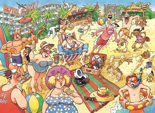 Wasgij Original Puzzel 24 - Een Heel Fijne Vakantie (1000 stukjes)-2