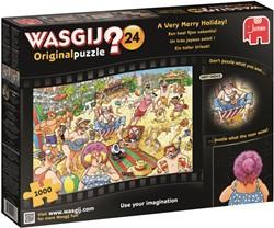 Wasgij Original Puzzel 24 - Een Heel Fijne Vakantie (1000 stukjes)