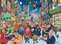 Wasgij Christmas Puzzel 12 - The Big Turn On (2x1000)-2