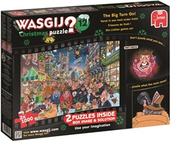 Wasgij Christmas 12 - The Big Turn On Puzzel (2x1000)