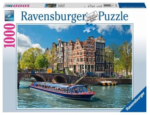 Rondvaart In Amsterdam Puzzel