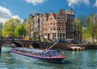 Rondvaart In Amsterdam Puzzel (1000 stukjes)-2
