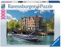 Rondvaart In Amsterdam Puzzel (1000 stukjes)