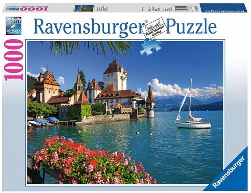 Aan Het Meer Van Thun, Bern Puzzel (1000 stukjes)