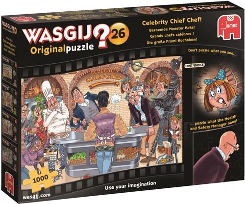 Wasgij Original Puzzel 26 - Beroemde Meester Koks (1000 stukjes)