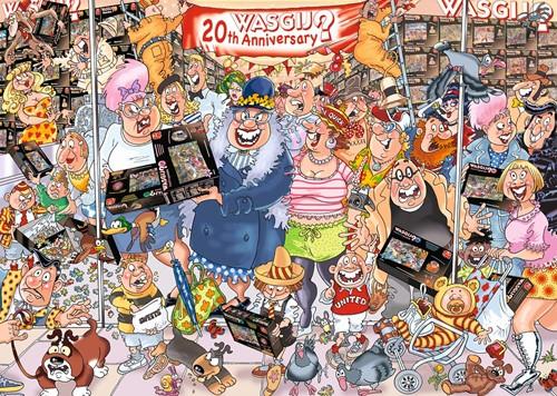 Wasgij Original Puzzel 27 - De 20ste Jubileum Parade (2 x 1000 stukjes)