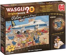Wasgij Original Retro 2 - Vakantiepret Puzzel (1000)