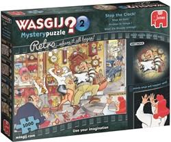 Wasgij Mystery Retro 2 - Stop de Klok Puzzel (1000)