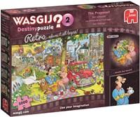 Wasgij Destiny Retro 2 - Het Aanzoek Puzzel (1000)