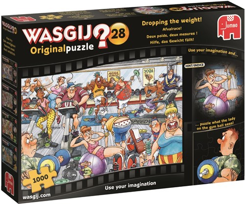 Wasgij Original 28 - Afvalrace Puzzel (1000 stukjes)