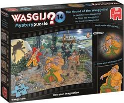 Wasgij Mystery 14 - De Jachthond van Wasgijdorp Puzzel (1000 stukjes)