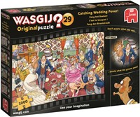Wasgij - Original 29 - Vang het Boeket Puzzel (1000 stukjes)-1