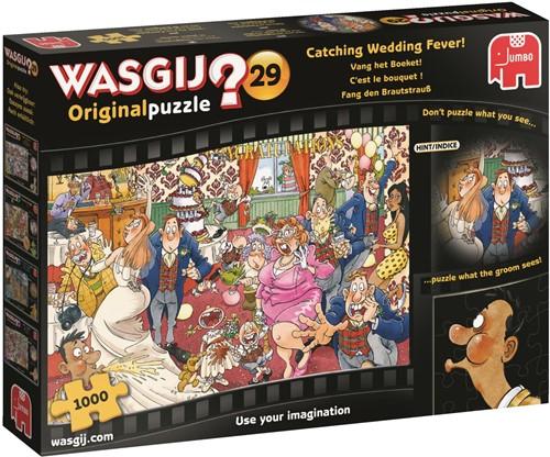 Wasgij Original 29 - Vang het Boeket Puzzel (1000 stukjes)