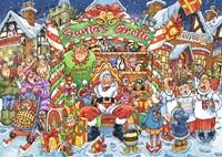 Wasgij Christmas 14 - Santa's Helpertjes Puzzel (1000 stukjes)-2