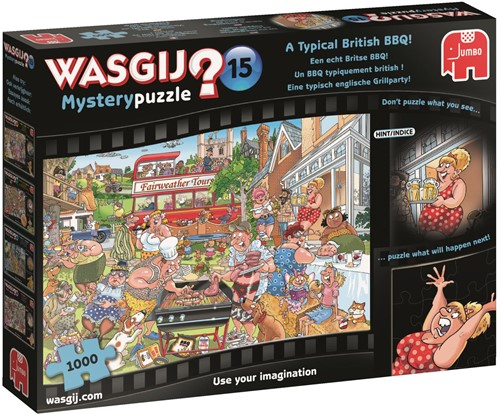 Wasgij - Mystery 15 Een Echt Britse BBQ Puzzel (1000 stukjes)