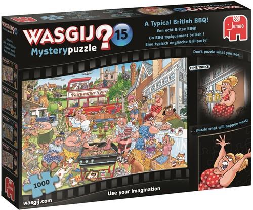 Wasgij - Mystery 15 Een Echt Britse BBQ Puzzel (Doos licht beschadigd)
