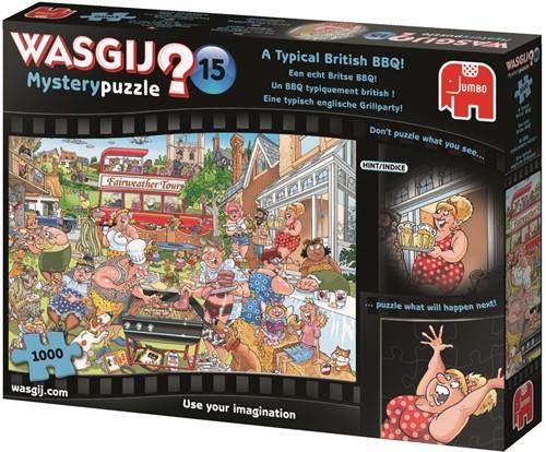 Wasgij - Mystery 15 Een Echt Britse BBQ Puzzel (1000 stukjes)-2