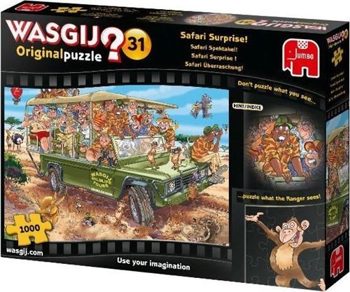 Wasgij Original 31 Puzzel - Safari Spektakel! (1000 stukjes)