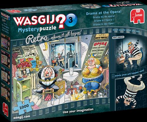 Wasgij Mystery 3 Retro - Drama bij de Opera! (1000 stukjes)