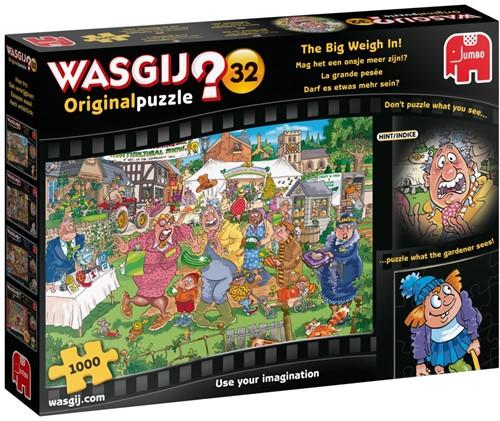 Wasgij Original 32 - Mag het een onsje meer zijn Puzzel (1000 stukjes)