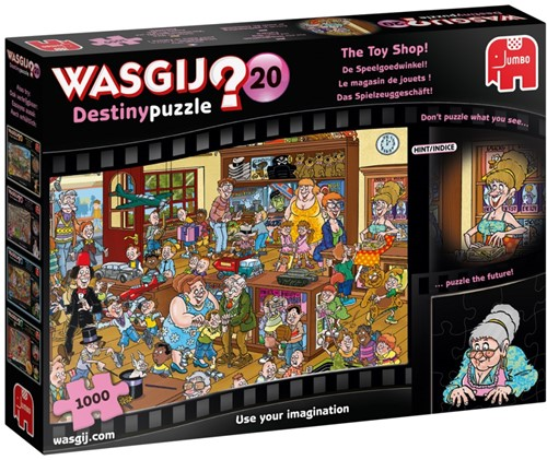 Wasgij Destiny 20 - De Speelgoedwinkel! Puzzel (1000 stukjes)
