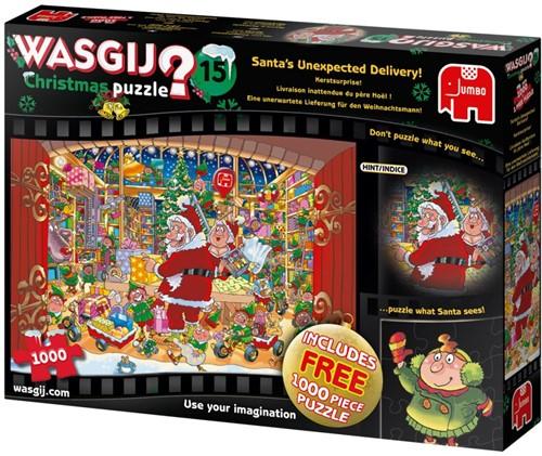 Wasgij Christmas 15 - Kerstsurprise! Puzzel (2 x 1000 stukjes)
