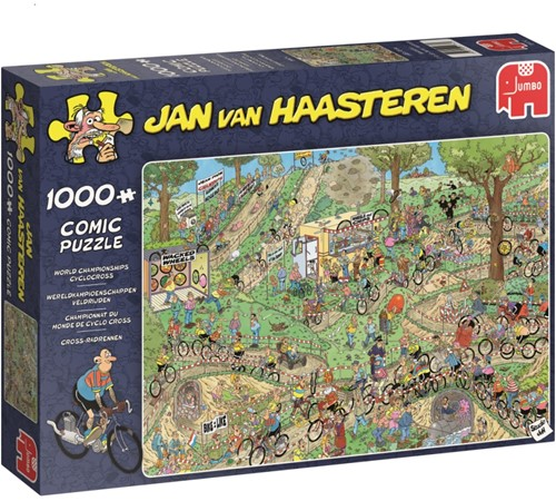 Jan van Haasteren - WK Veldrijden Puzzel (1000 stukjes)