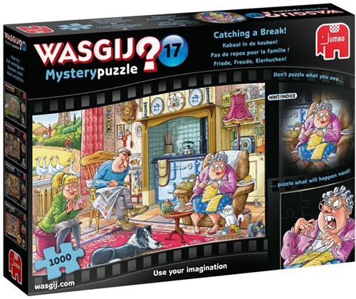 Wasgij Mystery 17 - Kabaal in de Keuken! (1000 stukjes)