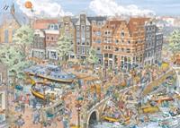 Fleroux - Amsterdam Puzzel (1000 stukjes)-2