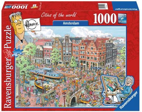 Fleroux: Amsterdam Puzzel