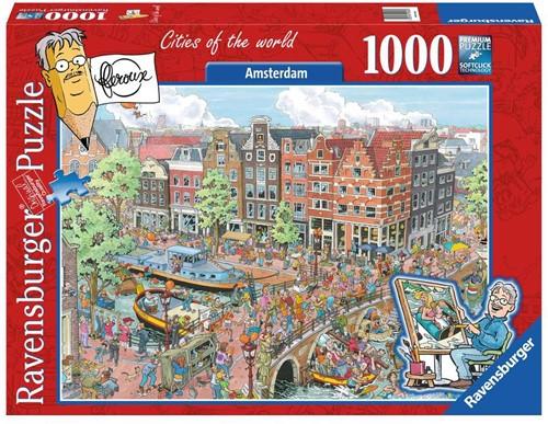 Fleroux - Amsterdam Puzzel (1000 stukjes)