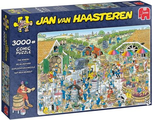 Jan van Haasteren - De Wijnmakerij Puzzel (3000 stukjes)