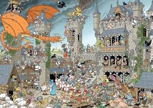 Pieces of History - Het Kasteel Puzzel (1000 stukjes)