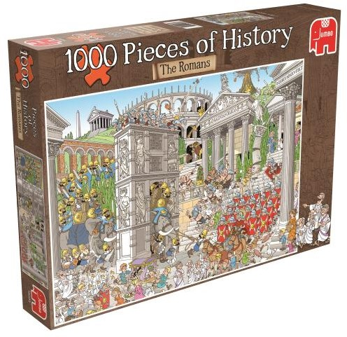 Pieces of History - De Romeinen Puzzel (1000 stukjes)-1