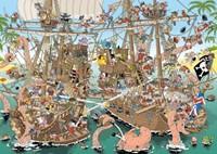 Pieces of History - The Pirates Puzzel (1000 stukjes)