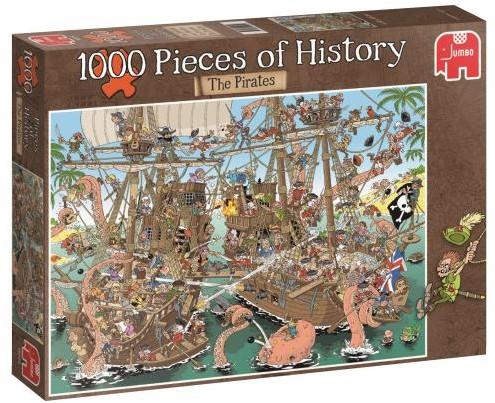 Pieces of History - The Pirates Puzzel (1000 stukjes)-1