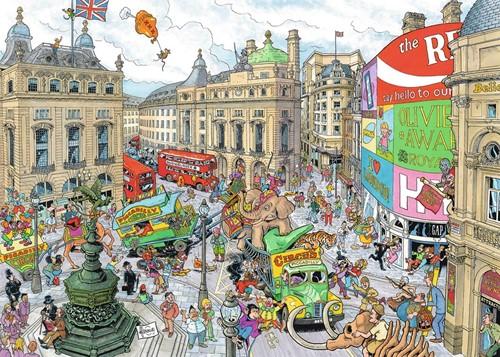 Fleroux - London Puzzel (1000 stukjes)-2