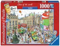 Fleroux - London Puzzel (1000 stukjes)