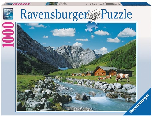 Karwendelgebergte Oostenrijk Puzzel (1000 stukjes)
