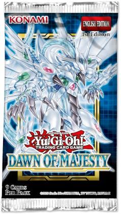 Yu-Gi-Oh! - Dawn of Majesty Boosterpack