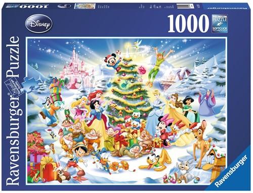 Kerstmis met Disney Puzzel (1000 stukjes)