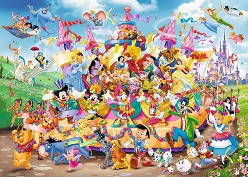 Disney Carnival Puzzel (1000 stukjes)-2