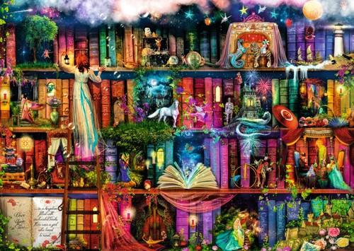 Fairytale Fantasia Puzzel (1000 stukjes)-2