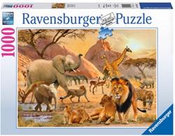 Afrikaanse Wildernis Puzzel (1000 stukjes)