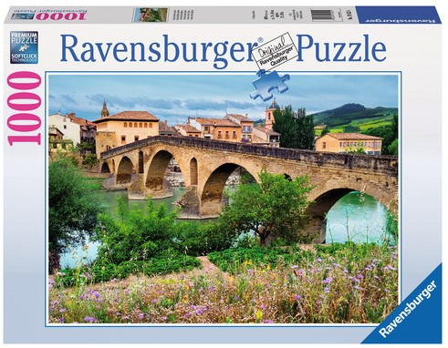 Puente La reina, Spanje Puzzel-1