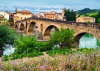 Puente La reina, Spanje Puzzel-2