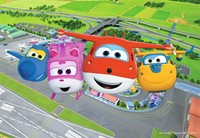 Super Wings Puzzels (4 in 1)-2